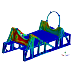Static and Dynamic Analysis of Transporter Frame