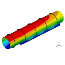 Optimization of the Duct by DFE Analysis